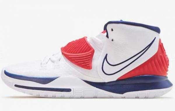 2020 Nike Kyrie 6 USA White is Available Now