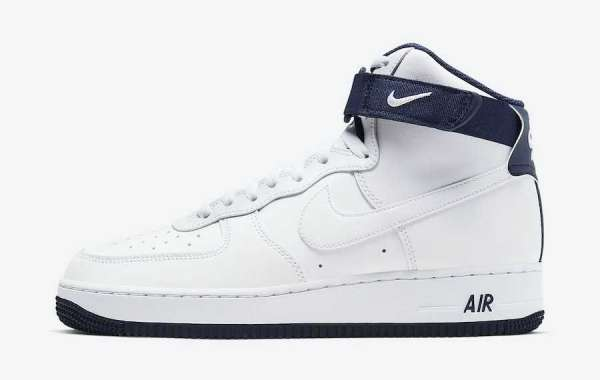 Nike Air Force 1 High White Regency Purple is Available Now
