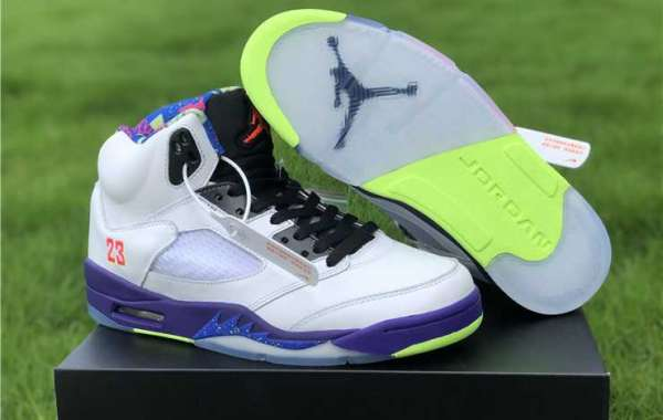 "Latest Release Air Jordan 5 ""Alternate Bel-Air"" DB3335-100 Men Sneakers 2020"